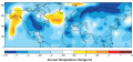 MAP - World GCM model of Maunder Minum Temperature Change (NASA GISS, 2001).png